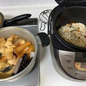 秋の定番夕食