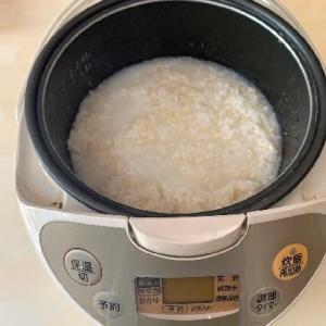 炊飯器で作る甘酒