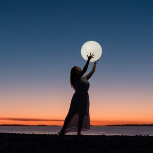 始まりの光。天秤座満月