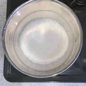 メスティンで炊飯(^o^)/