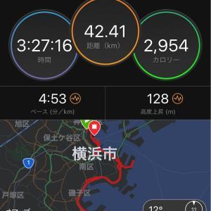 【速報】横浜マラソン2019。