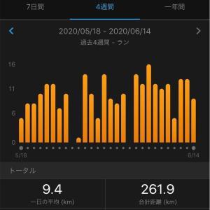 10日間連続で走った記念。