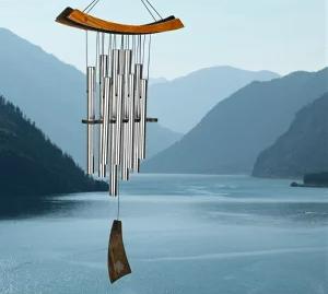 世界最高峰のヒーリングチャイム、自然の風に乗って奏でる癒しの風鈴