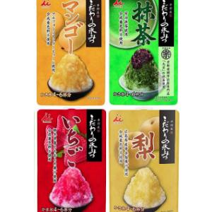 井村屋 かき氷シロップ 「こだわりの氷みつ」 4種セット !いちご・ 抹茶・ 梨 ・マンゴー!