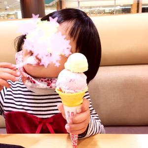 アニーのアイスとマチカ