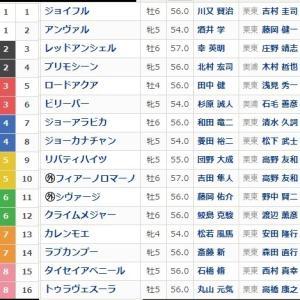 京阪杯GⅢ枠順とポイント