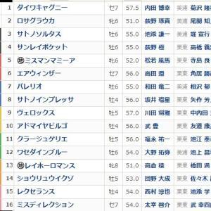 日経新春杯(GⅡ)枠順とポイント