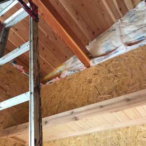 港の家 工房の天井