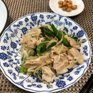 超シンプルな中華料理屋風の野菜炒め