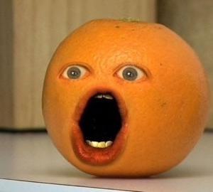 ウザいオレンジ〜annoying orange