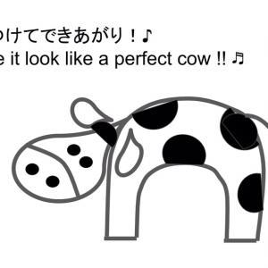 えっちゃんの英語絵描き歌〜牛