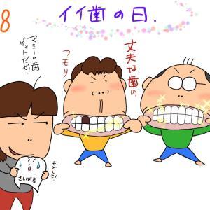 今日いい歯の日❗