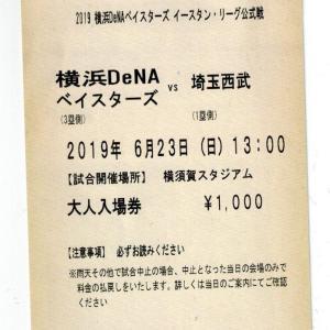 2019年6月10日 埼玉西武vs横浜DeNA (横須賀) の感想