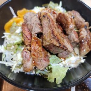 「ステーキ食堂&肉飯」松山市宮西