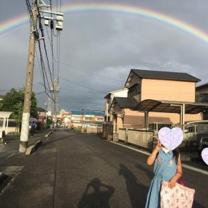 ♪大きな虹!経験したことが表現に繋がる!