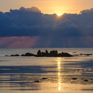 能登島の光芒