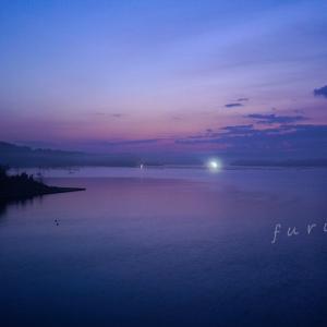 七尾西湾の朝