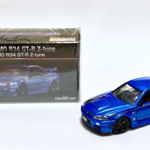 トミカプレミアム大全 NISMO R34 GT-R Z-tune