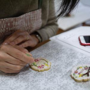 かわいいマトリョーシカクッキーの完成♡1/10レポ