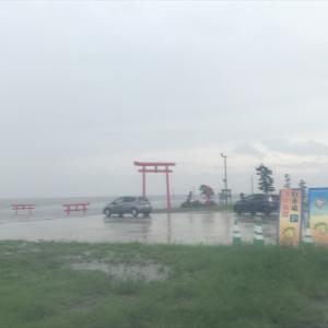 雨に煙る海中鳥居を見た後は、長崎へ♪ 9月2日