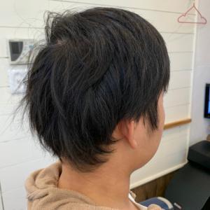 髪型を変化してみる