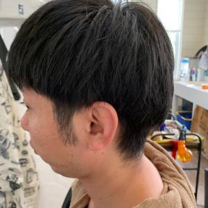 韓国風重ためのヘア♪