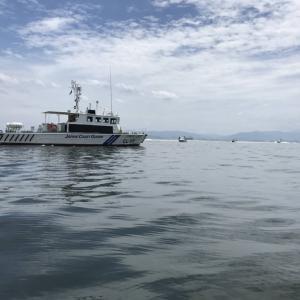 釣行記18-08 博多湾太刀魚調査