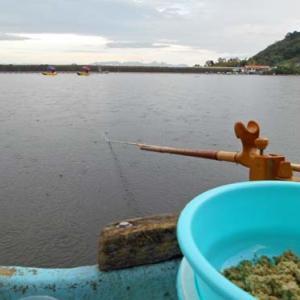 9月19日、鮎川湖。