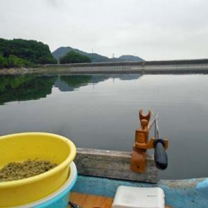 5月15日、鮎川湖。