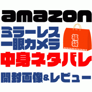 【2021年】Amazonミラーレス一眼カメラ福袋の中身ネタバレ!NikonやCanonがでるかも!?
