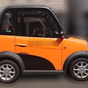 うちのおくさま 一人乗り超小型電気自動車 『ララ』に乗っているんです