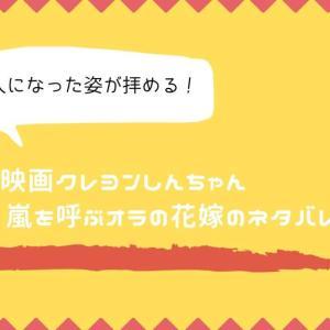 映画クレヨンしんちゃん 超時空 嵐を呼ぶオラの花嫁のネタバレ【大人になった姿が拝める作品】