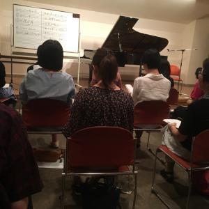 ピアノ骨体操のセミナーへ