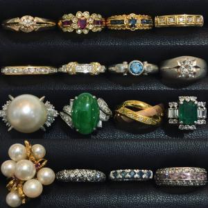 宝石は外しません。お品物は壊しません。