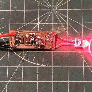 ヘルメット用点滅ライトの製作