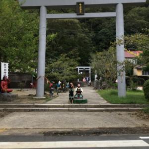 締めは桃太郎神社!
