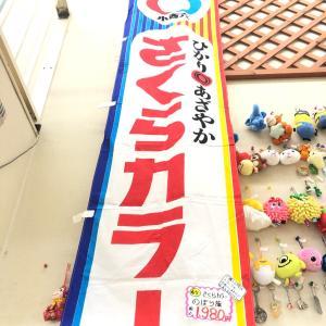 【さくらカラーのぼり旗】ミツコシ