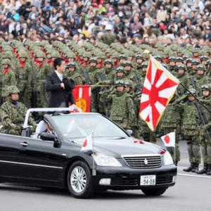 平成30年度自衛隊記念日観閲式