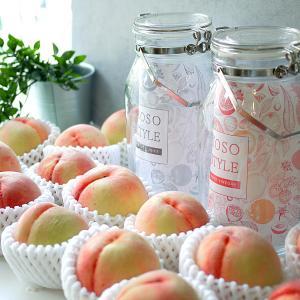 8月は、桃の酵素ジュース作り教室です