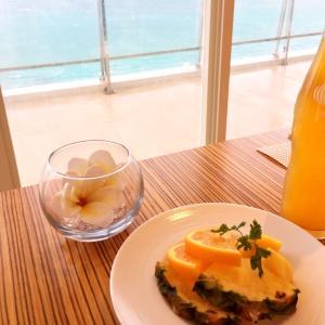 沖縄旅行2日目の朝食…♡