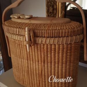 nantucket  basket  biscotti purse