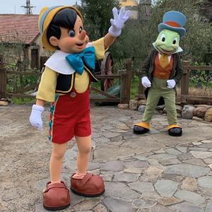 こんなところでやるの!?ピノキオ御一行のグリーティング!!