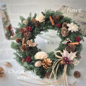 クリスマスの準備はお早めに!温かみのある手作りリースで思い出に残るクリスマスを♪