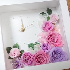 【生徒様作品】憧れの花時計がオンラインでも作れちゃう♪特別なプレゼントは思いを込めた手作りで♡