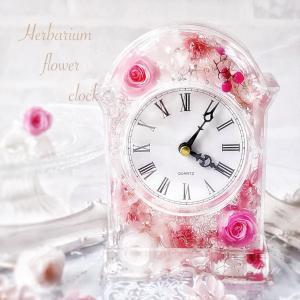 【大人気♪】お部屋を華やかに彩る♡固めるオイルで作るアクリル花時計