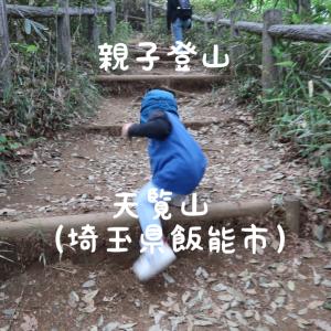 【親子登山】2歳児が自力で登れた天覧山。