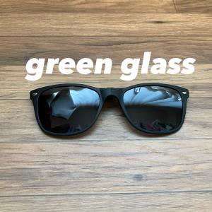 【レビュー】green glass(グリーングラス)で眼鏡をコンパクトサングラスに変身させる。