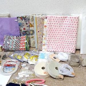 またまた買ってしまった資材…。手芸ナカムラさんでお買い物。