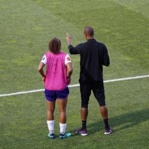 成長している選手の背景には優秀なコーチがいる?