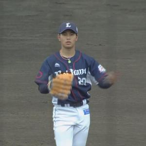 西武ドラ2浜屋、上々の実戦デビュー!